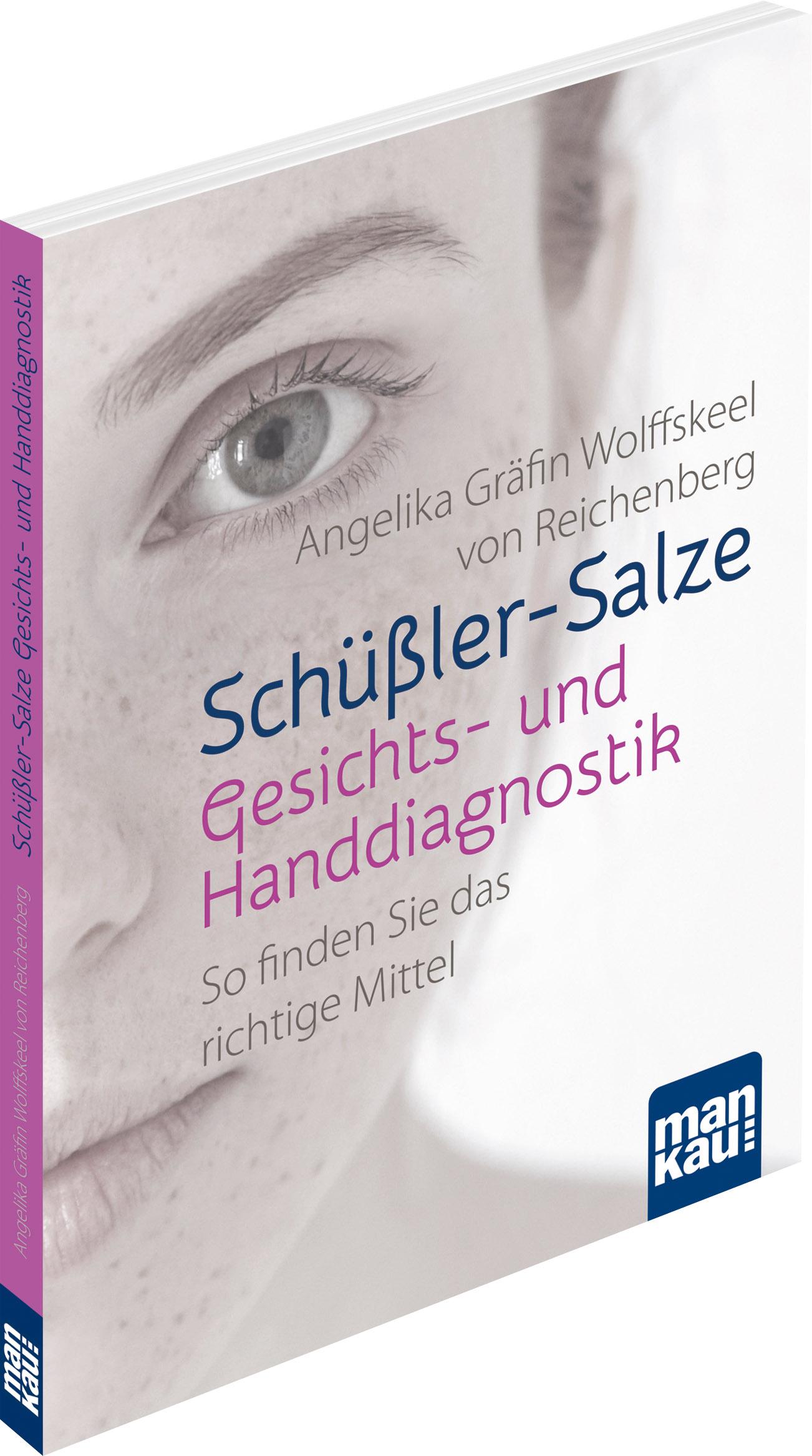Schüßler Salze Gesichts Und Handdiagnostik Von Angelika Gräfin