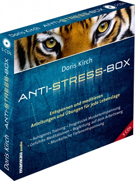 Anti-Stress-Box (5 Audio-CDs)